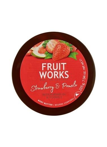 Fruit Works Strawberry & Pomelo Vücut Kremi 225 g Renksiz